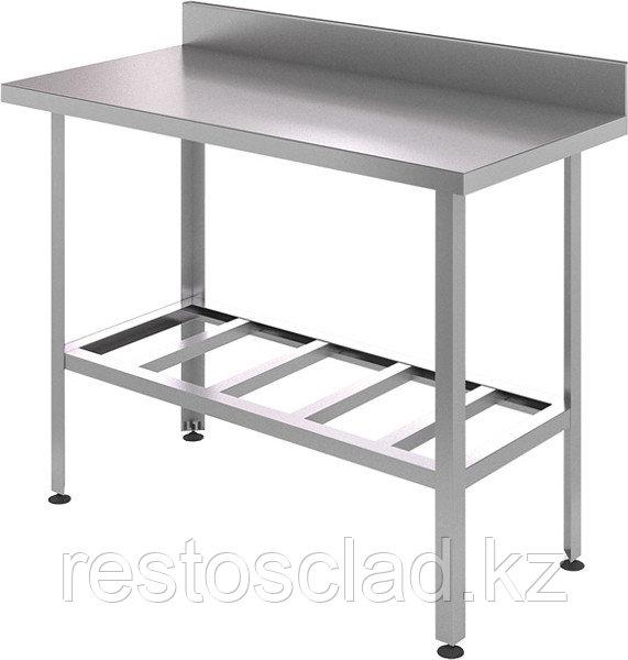 Стол производственный пристенный CRYSRI СРП 1000/600/СРПЦ Э оц