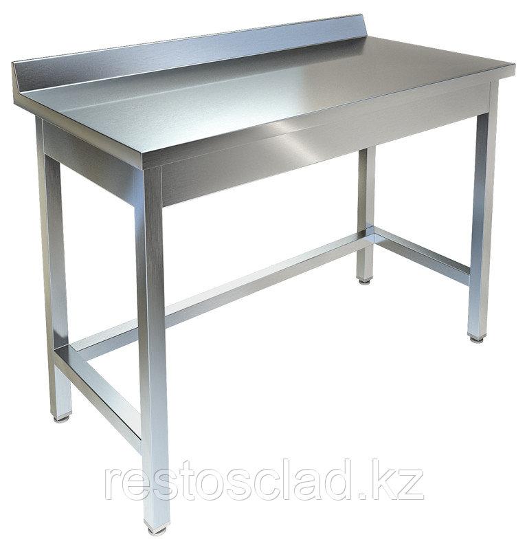 Стол производственный пристенный ТЕХНО-ТТ СПП-222/907 нерж