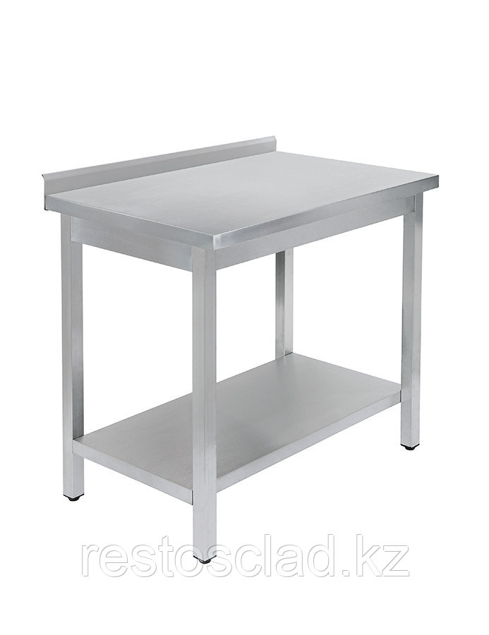 Стол универсальный Luxstahl СПУ-10/7 со сплошной полкой нерж