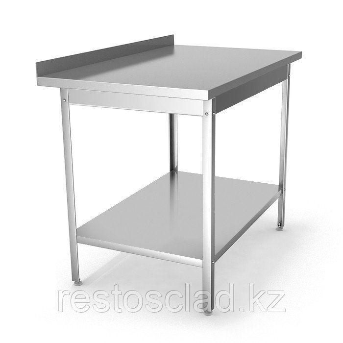 Стол производственный пристенный СРП 12/6 э с усиленным каркасом