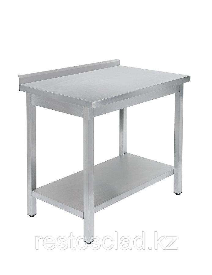 Стол универсальный Luxstahl СПУ-9/6 со сплошной полкой нерж