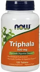 Трифала экстракт (Triphala) Now Foods 500 мг 120 таблеток