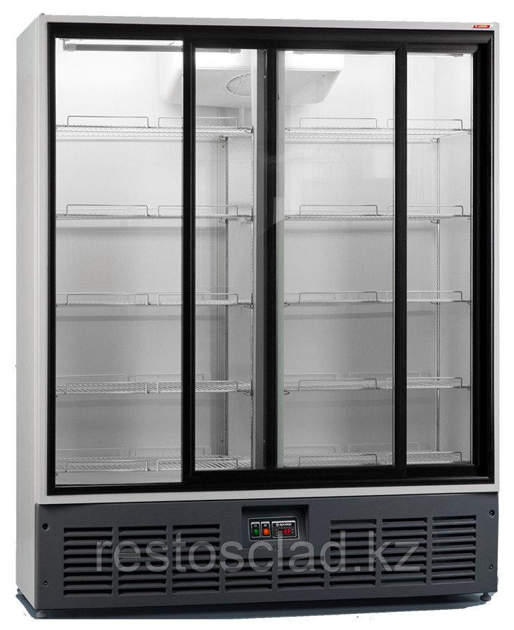 Шкаф универсальный АРИАДА R1400VC (стеклянные двери-купе)
