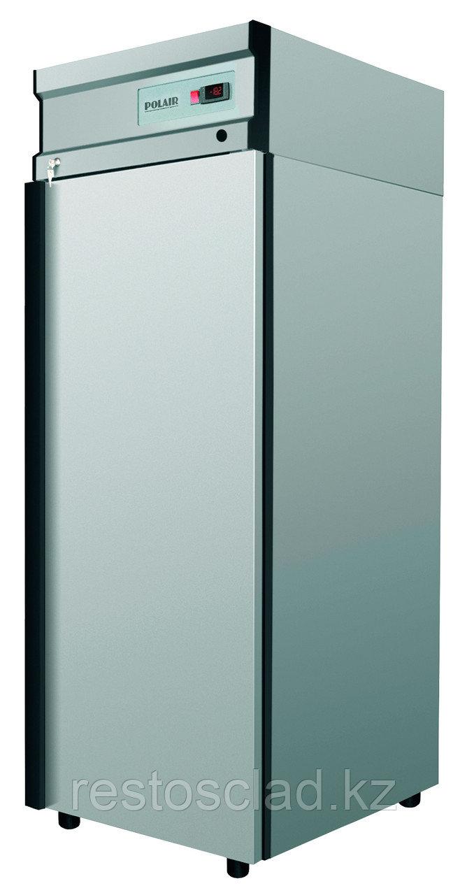 Шкаф холодильный POLAIR ШХ-0,7 (CM107-G) (нержавеющая сталь)