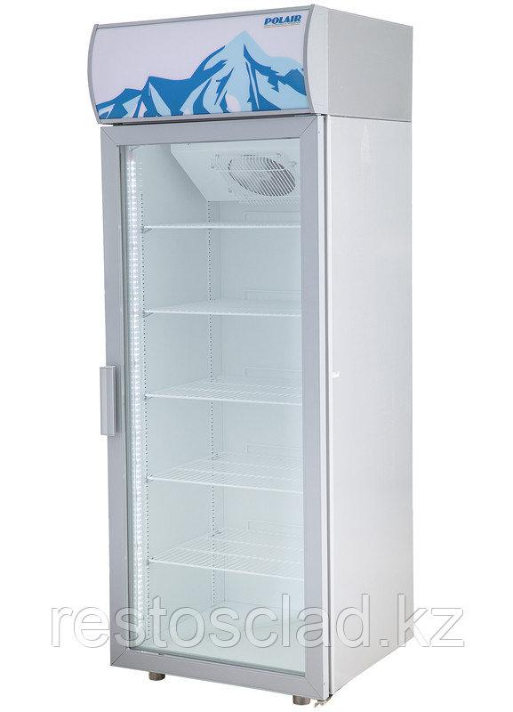 Шкаф холодильный POLAIR ШХ-0,5 ДС (DM105-S) (стеклянная дверь) версия 2.0