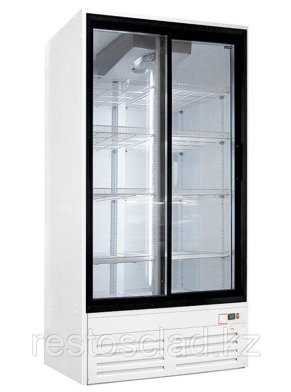 Шкаф холодильный ПРЕМЬЕР ШВУП1ТУ-1,12К (двери-купе, световое канапе)