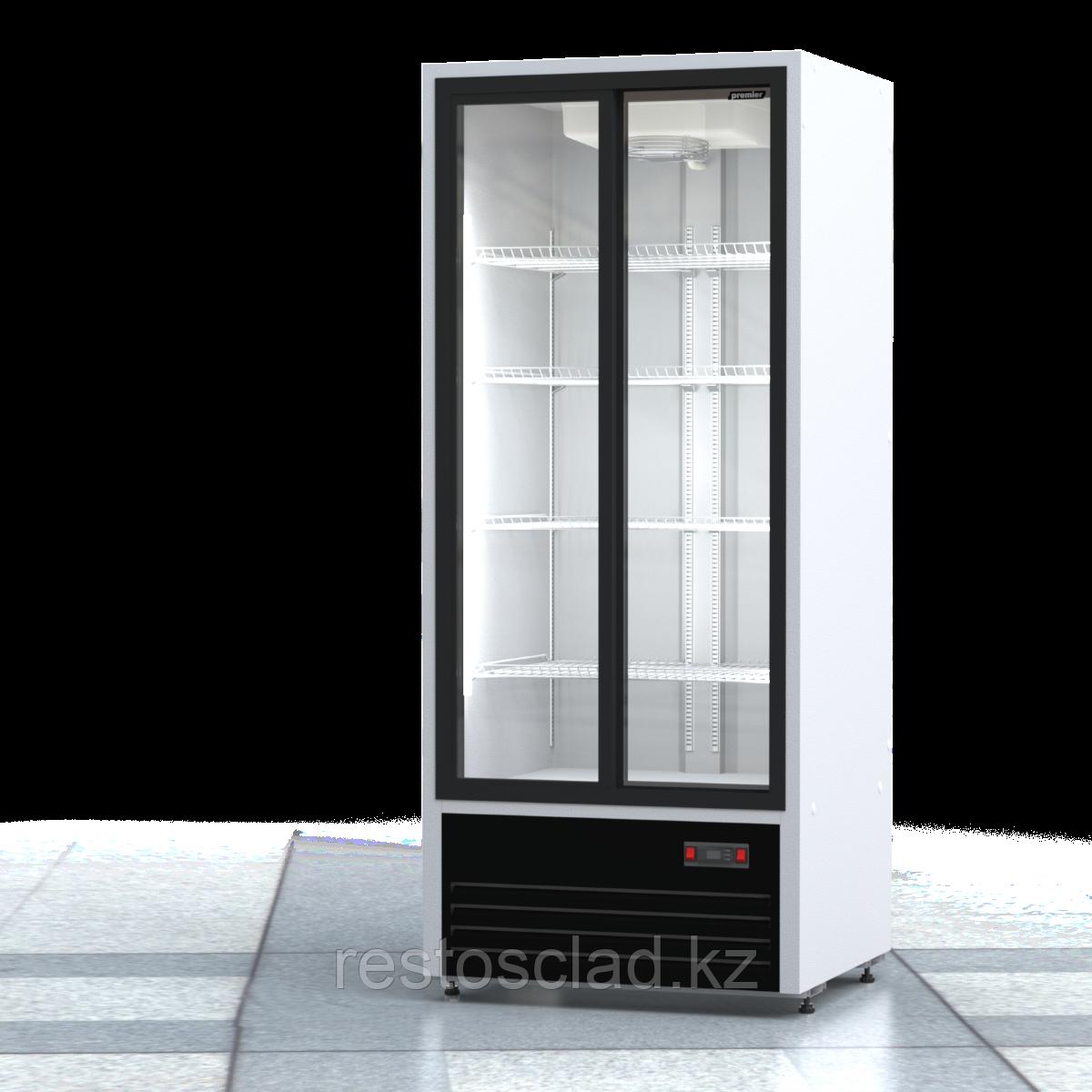 Шкаф холодильный ПРЕМЬЕР ШВУП1ТУ-0,8К С (двери-купе)