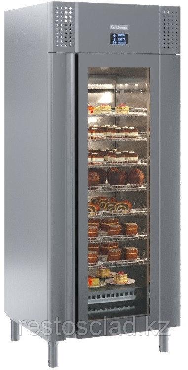 Шкаф холодильный PRO R с высоким уровнем контроля влажности M700GN-1-G-HHC 9005 (сыр, мясо)