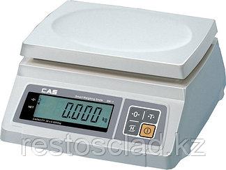 Весы CAS SW-1-10 (двойной дисплей)