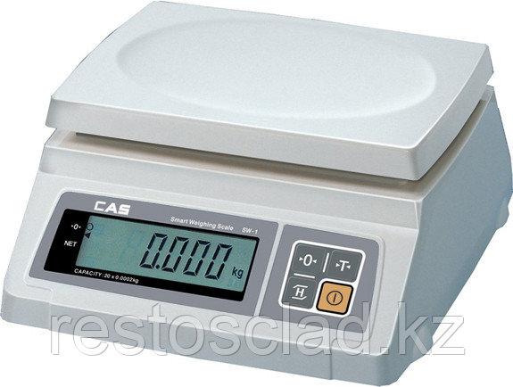 Весы CAS SW-1-20 (двойной дисплей)