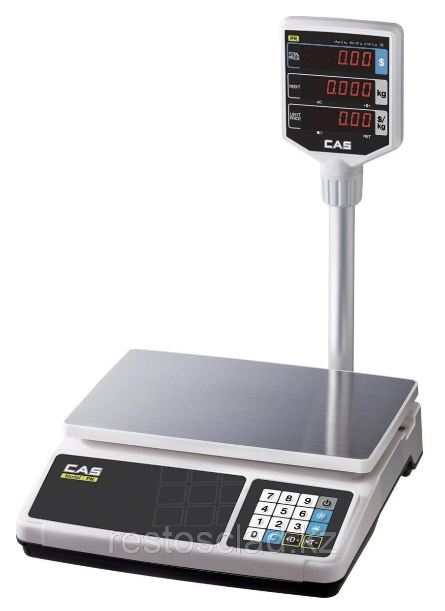 Весы торговые CAS PR-15 Р (LCD,II)