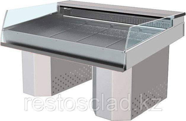 Витрина холодильная «рыба на льду» АРИАДА Бьянка ВУ 17Р-160