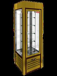 Витрина кондитерская вертикальная с вращением HICOLD VRC 350 R Sh PG 284287