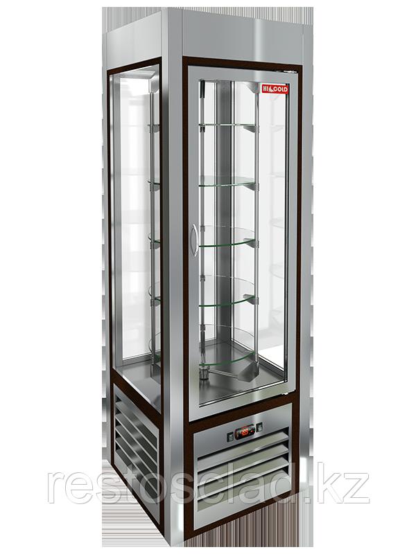 Витрина кондитерская вертикальная с вращением HICOLD VRC 350 R Sh 284283