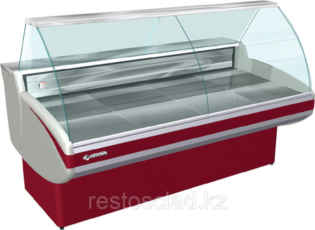 Витрина холодильная CRYSPI Gamma-2 1200