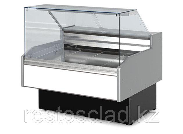 Витрина холодильная ГОЛЬФСТРИМ Двина QS 150 ВС куб. стекло