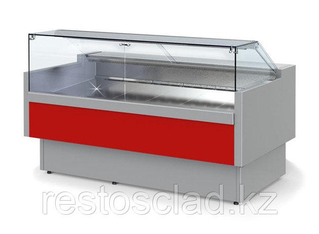 Витрина холодильная ГОЛЬФСТРИМ Двина QV 125 ВС куб. стекло