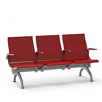 Скамья для ожидания (3-х местная), модель Bоn- 138