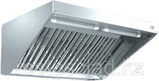 Зонт вытяжной ЗВЭ-900-1,5-П пристенный
