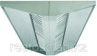 Зонт вытяжной островной МВО-2,4 МСВ-1,2 Ц