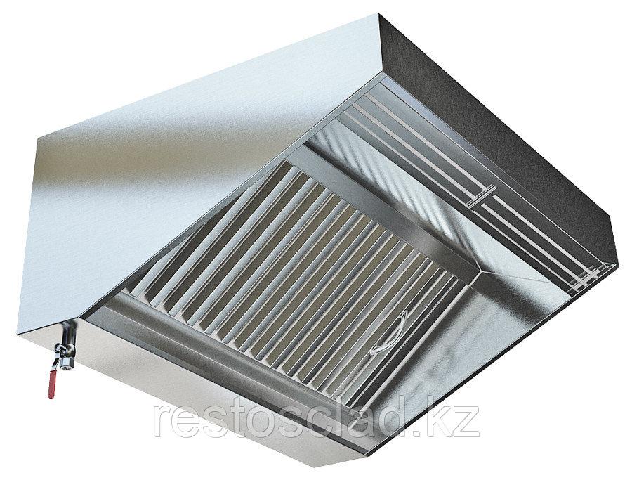 Зонт приточно-вытяжной пристенный МВО-2,0 МС-1,0 П