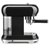 Кофемашина эспрессо Smeg ECF-01BLEU (Черный), фото 2