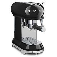 Кофемашина эспрессо Smeg ECF-01BLEU (Черный), фото 4