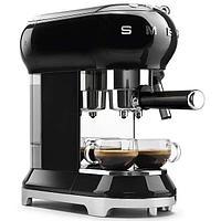 Кофемашина эспрессо Smeg ECF-01BLEU (Черный), фото 5