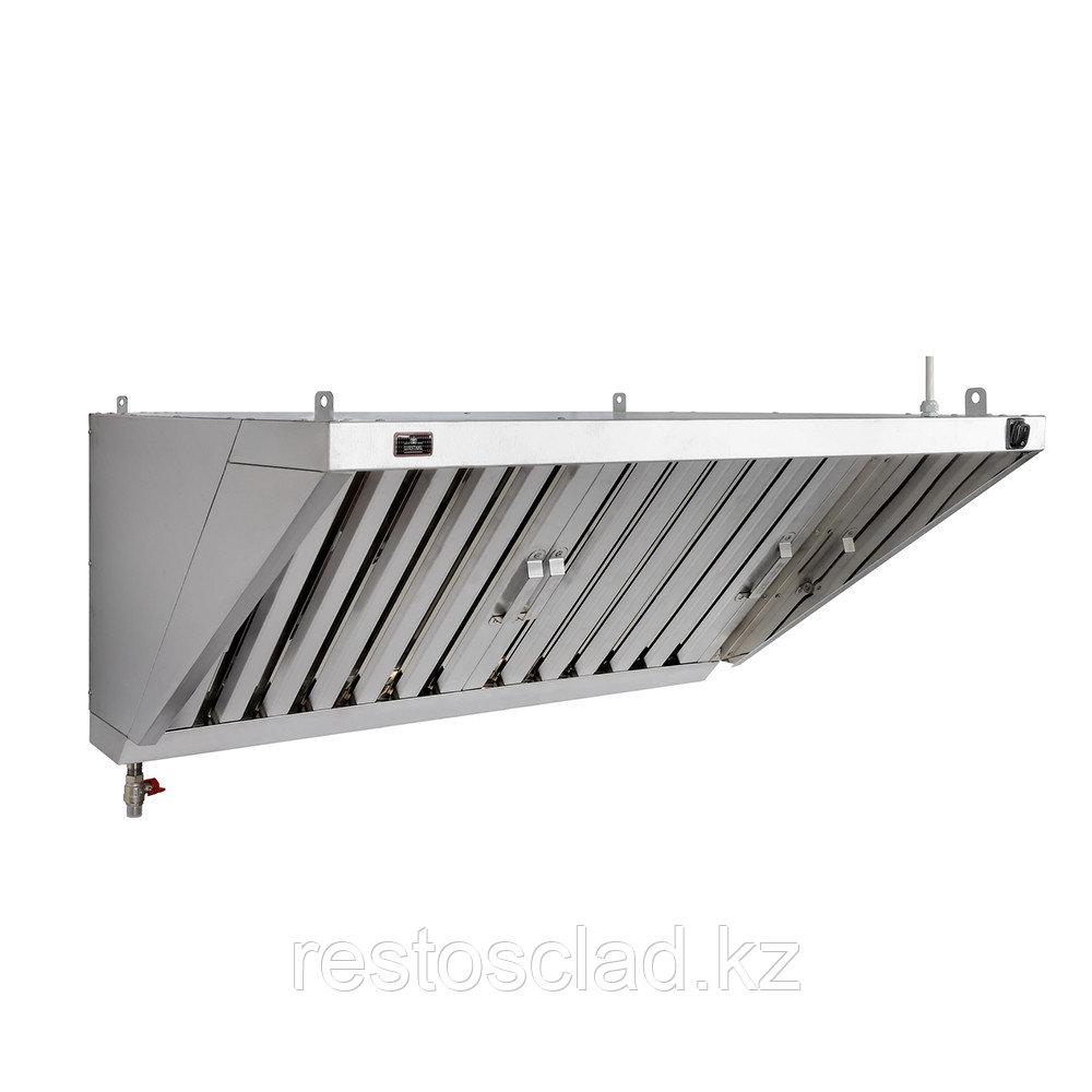 Зонт вытяжной пристенный Luxstahl ЗВП 800х1500