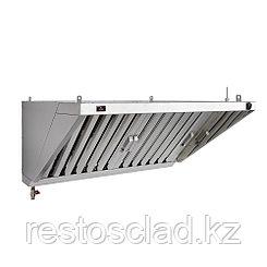 Зонт вытяжной пристенный Luxstahl ЗВП 800х600
