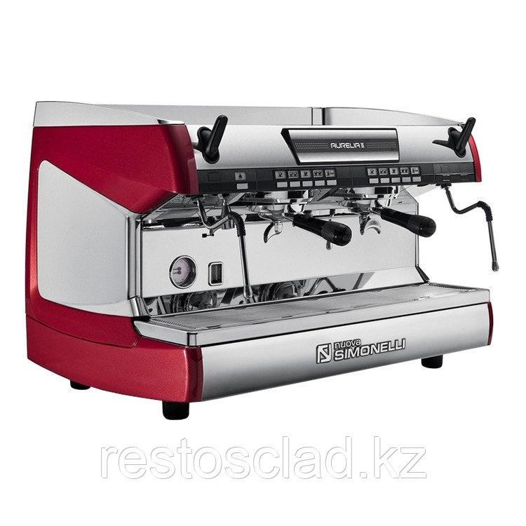 Кофемашина-автомат Aurelia II Vol 2 gr red+high gr+LED lights