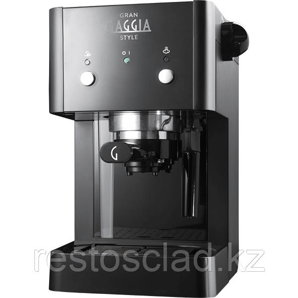 Кофемашина рожковая Gaggia Gran Style Black (8710103670711)