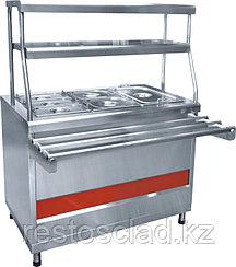 Прилавок-мармит вторых блюд ABAT «Аста» ПМЭС-70КМ-60
