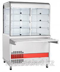 Прилавок-витрина холодильный ABAT «Аста» ПВВ-70КМ-С-НШ