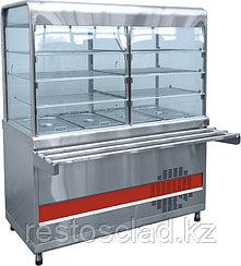 Прилавок-витрина холодильный ABAT «Аста» ПВВ-70КМ-С-03-НШ