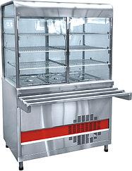 Прилавок-витрина холодильный ABAT «Аста» ПВВ-70КМ-С-02-НШ