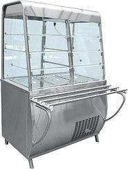 Прилавок-витрина холодильный ABAT «Премьер» ПВВ-70Т-С