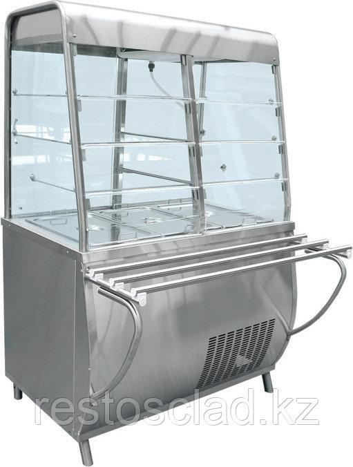Прилавок-витрина холодильный ABAT «Премьер» ПВВ-70Т-С-01