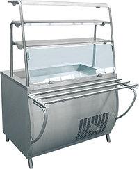 Прилавок-витрина холодильный ABAT «Премьер» ПВВ-70Т