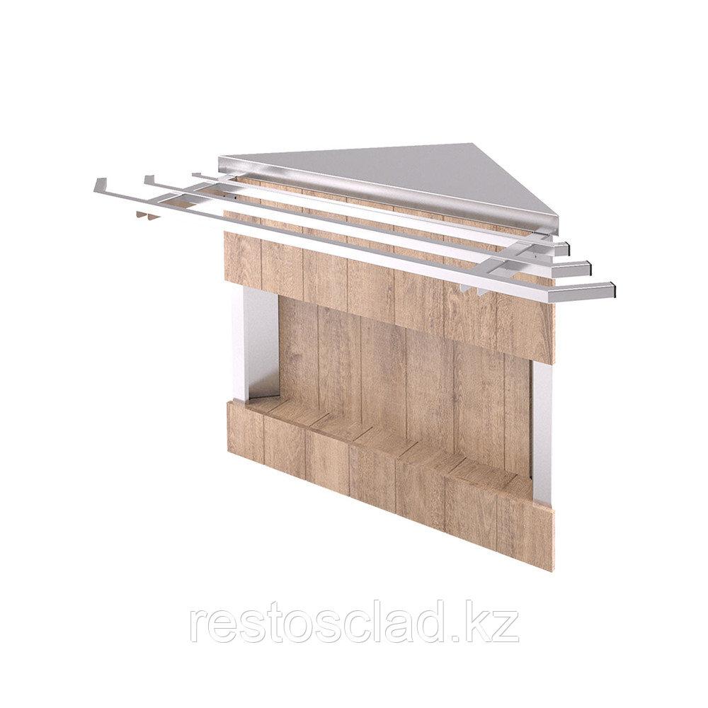 Прилавок нейтральный угловой внешний 90 градусов Capital RU10A90