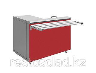 Прилавок кассовый Luxstahl КК-1200 (7 вариантов цветов)