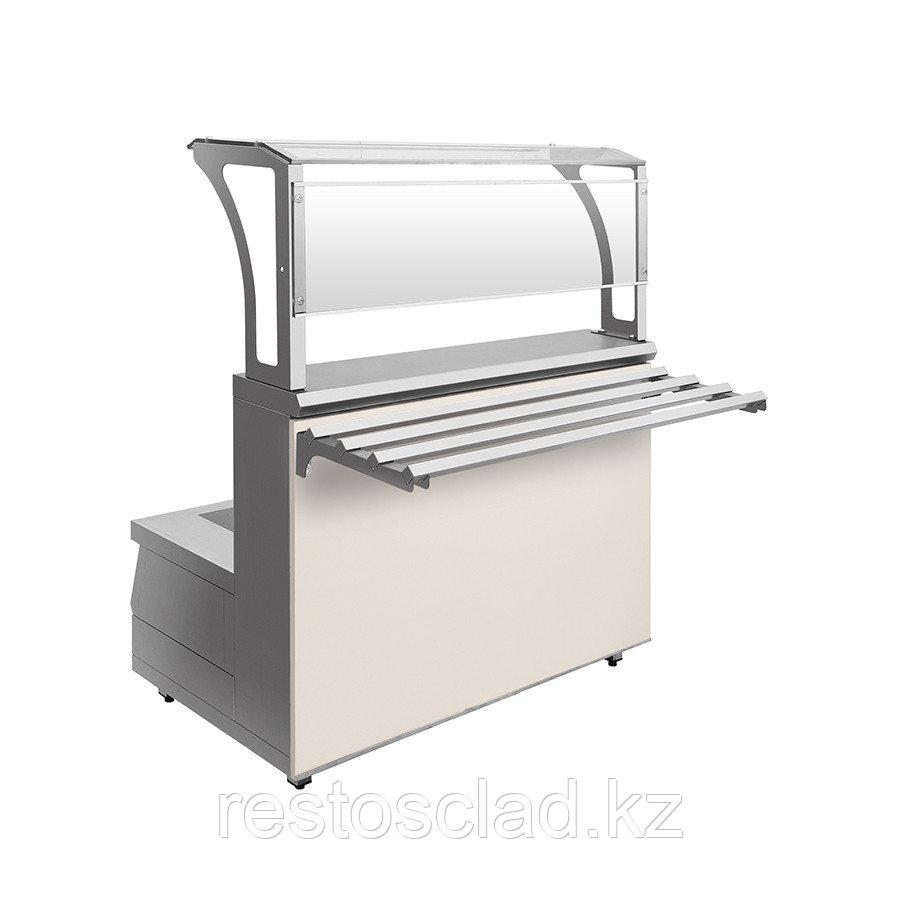 Мармит первых блюд 2-конфорочный индукционный Luxstahl МПИ-1200 (7 вариантов цветов)