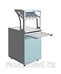 Прилавок для приборов и подносов Luxstahl ПП-600 (7 вариантов цветов)