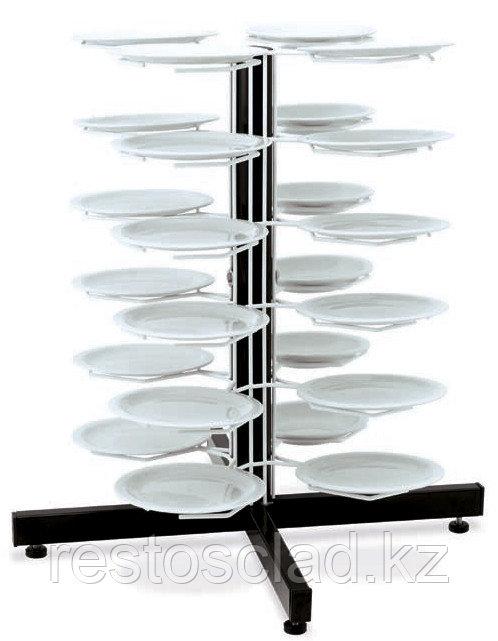 Держатель MetalCarrelli на 24 тарелки (180 мм и 240 мм) [3018]