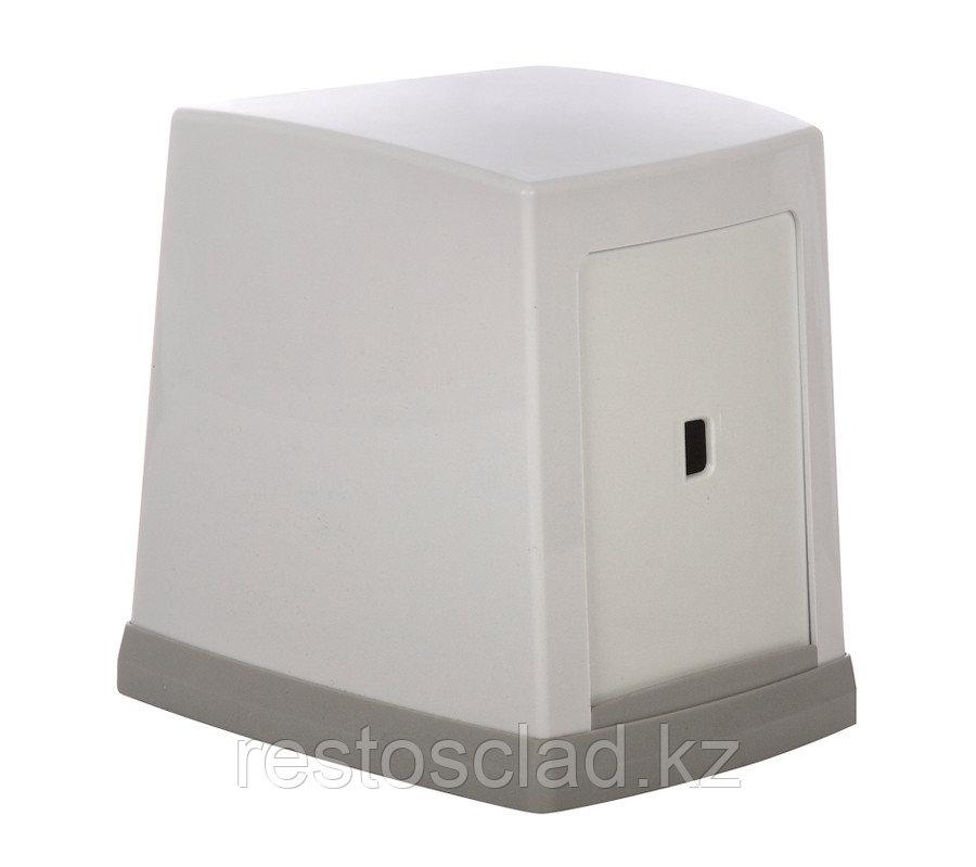 Диспенсер для салфеток 130x120x100 мм, белый [NP80]