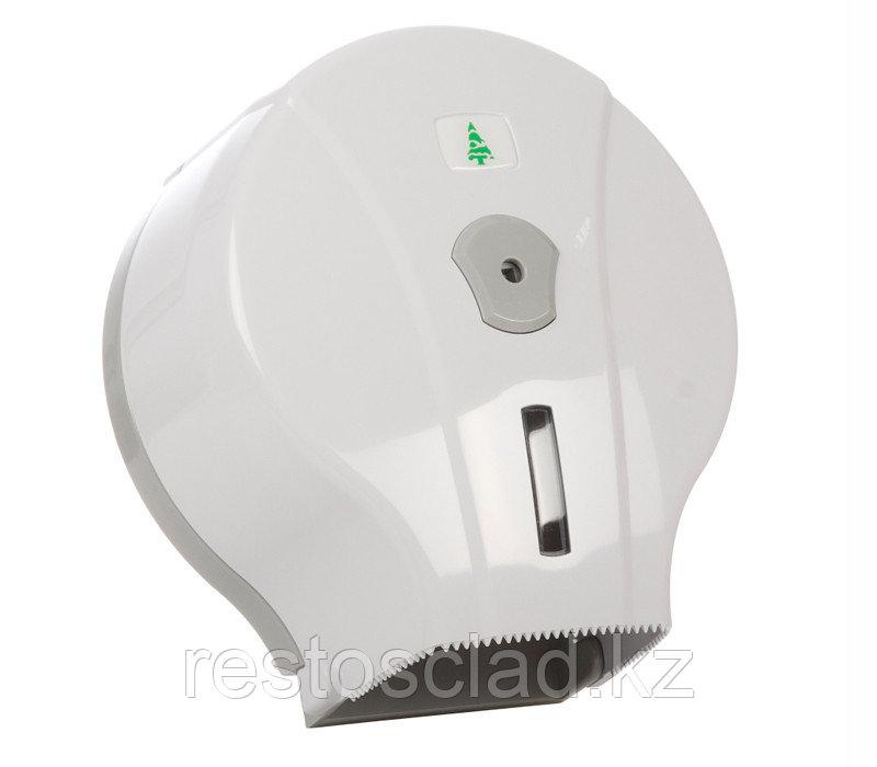 Диспенсер для туалетной бумаги бело-серый [MJ1mini]
