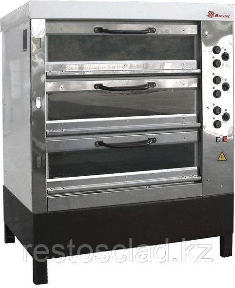 Печь пекарская ВОСХОД ХПЭ-750/3 С стекло