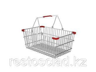 Корзина покупательская металлическая SB22-CR