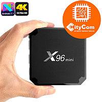 Приставка Android TV box к телевизору, Android Mini PC X96 Mini Арт.6318
