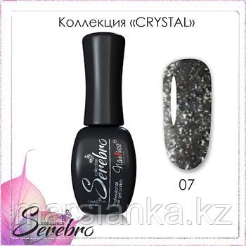 Гель лак Serebro Crystal №07, 11мл